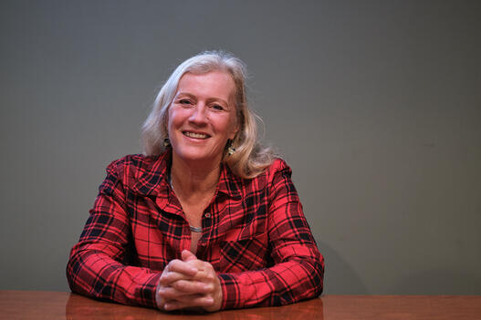 leslie gladstone is an angels foster parent